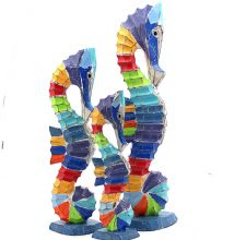 Colourful Seahorses